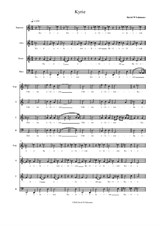 Modal Mass for SATB choir