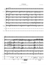 Al Hanisim for solo alto voice, solo clarinet, strings and percussion