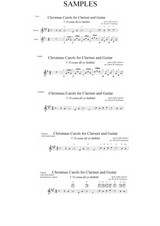 Christmas Carols for clarinet and guitar No.5 O come all ye faithful (Adeste fideles)