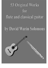 53 Original works for flute and classical guitar