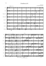 Crucifixus a 8 for clarinet octet (or clarinet choir) in E flat (4 clarinets 2 alto clarinets and 2 bass clarinets)