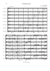Crucifixus a 8 for clarinet octet (or clarinet choir) in F (6 clarinets and 2 bass clarinets)