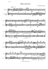 Moves for Two for alto flute and contrabass flute